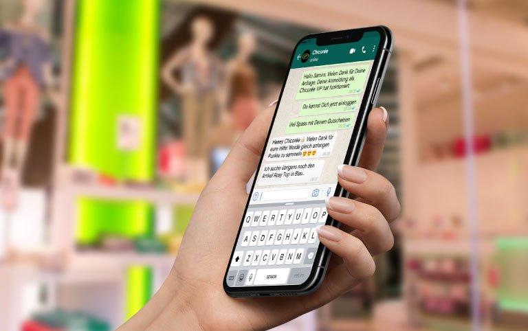 Service Chicorée WhatsApp